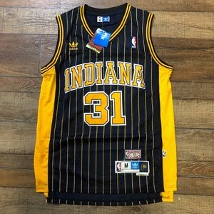 NWT Reggie Miller Indiana Pacers NBA Jersey Medium